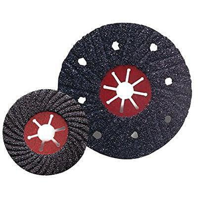 CGW Abrasives Semi-Flex Sanding Discs - 7'' a-16 alum oxide semi-flex sanding disc (Set of 25)
