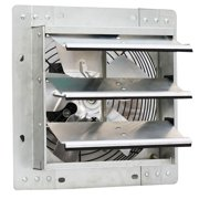 """iLiving 10"""" Variable Speed Wall Mount Shutter Exhaust Fan, Certified Refurbished"""