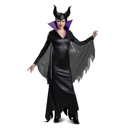 Long Halloween Villains (Disney Villains Maleficent Deluxe Adult Halloween)