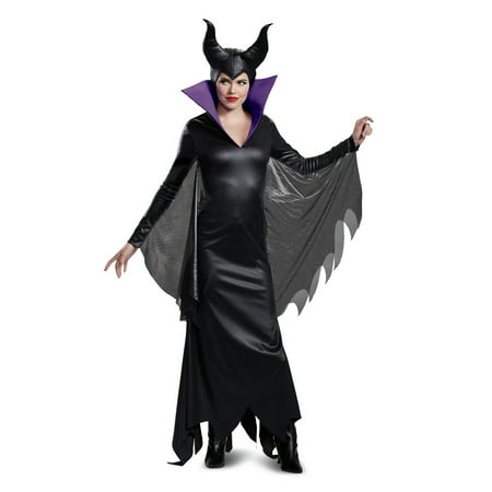 Disney Villains Maleficent Deluxe Adult Halloween Costume](Maleficent Costume For Women)