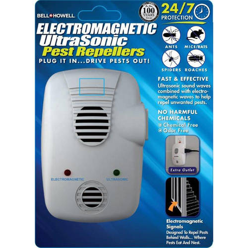 Bell & Howell Electromagnetic Ultrasonic Pest Repeller