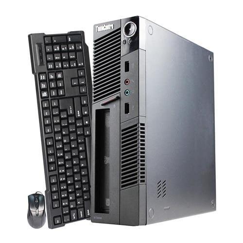 Business series Lenovo ThinkCentre M91p Ultra Small Computer Mini PC (Intel Core i5-2400S, 8GB Ram, 120GB Brand New SSD, Display Port, DVD-RW, WIFI) Windows 10 Professional - Certified Refurbished