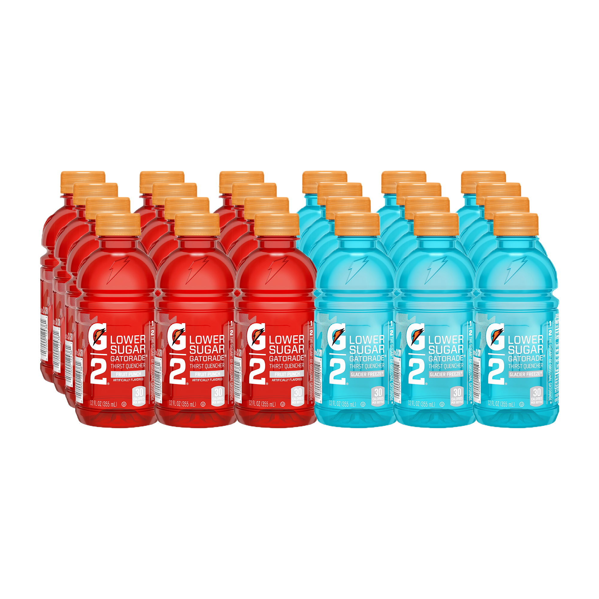 G2 Thirst Quencher Low Calorie Sports Drink, Variety Pack, 12 Fl Oz, 24 Count