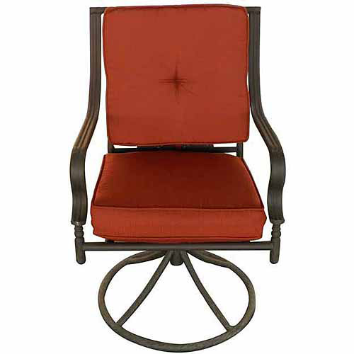 DC America Steel Dining Swivel Chair with Cushion