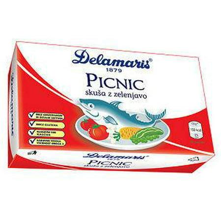Mackerel Salad Picnic with White Beans, 125g (Delamaris) Or Marco Polo](Halloween Green Bean Salad)