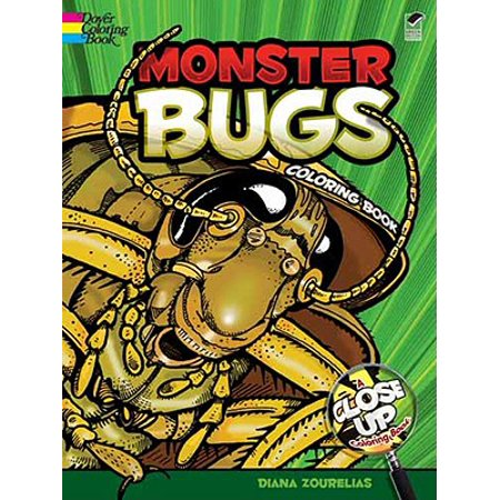 Monster Bugs Coloring Book](Bugs Bunny Halloween Coloring Pages)