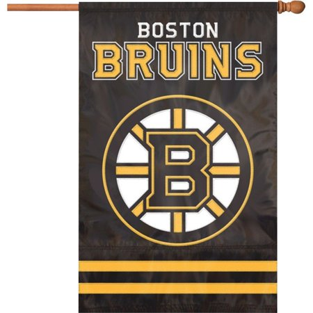 Party Flag Banners (Party Animal Boston Bruins Applique Banner Flag - United States - Massachusetts - 44