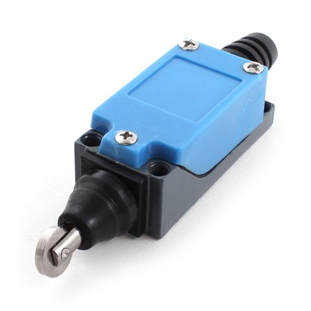 ME-8122 DPST Momentary Push Button Actuator Roller Plunger Limit Switch