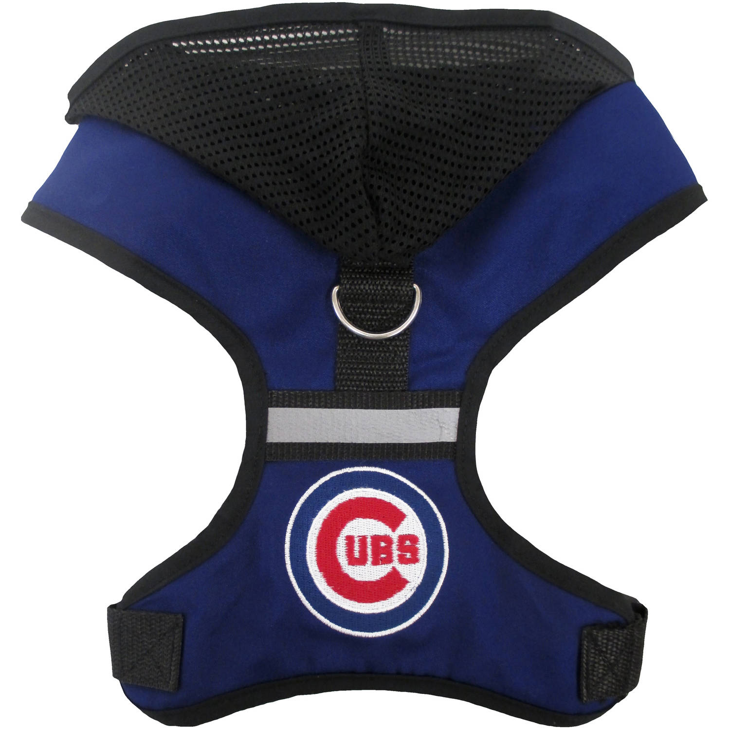 Pets First MLB Chicago Cubs Pet Harness with Hood, Small