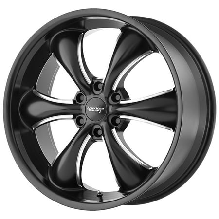 American Racing AR914 TT60 Truck 18x8.5 6x135 +30 Black/Milled Wheel Rim 18 Inch (18 Inch Racing Rims)