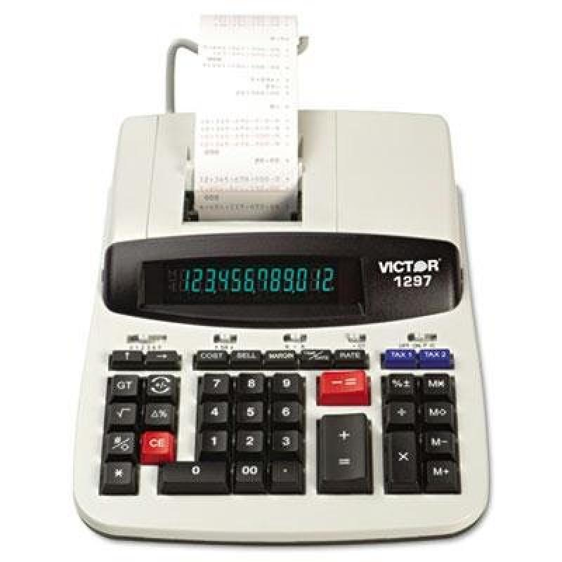 Victor 1297 Two-Color Commercial Printing Calculator