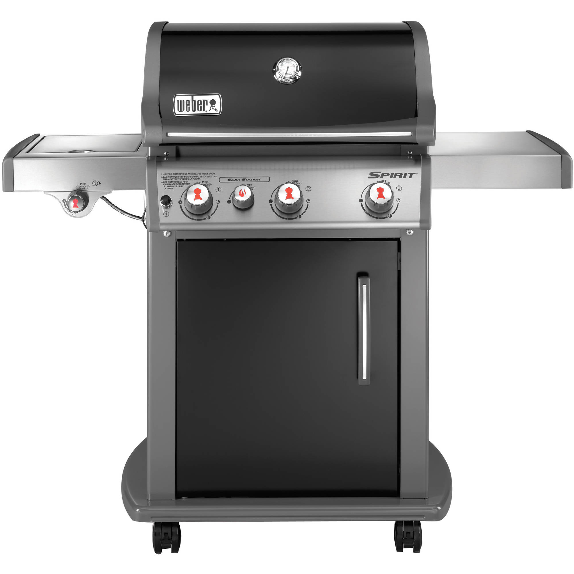 Weber Spirit E-330 LP Gas Grill, Black by Weber-stephen Products