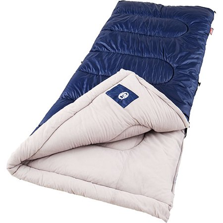 Coleman Brazos 30-Degree Sleeping - Kids Cotton Sleeping Bag