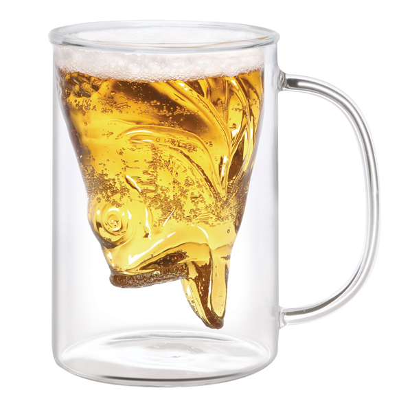 Exclusive Fish In A Mug - Fisherman's Beer Glass