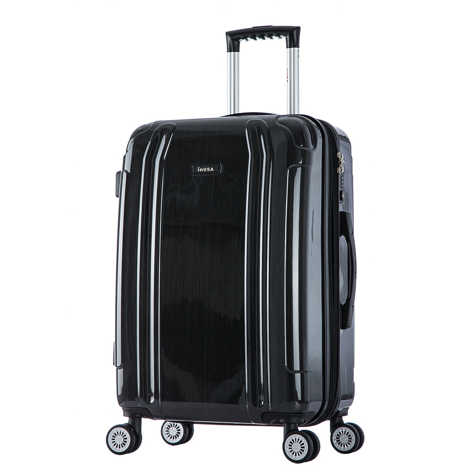 InUSA SouthWorld 27-inch Lightweight Hardside Spinner Luggage ...