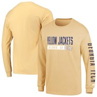 Men's Russell Athletic Gold Georgia Tech Yellow Jackets Hit Long Sleeve T-Shirt
