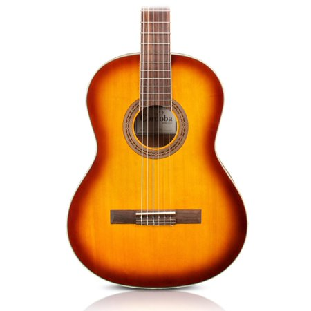 Cordoba C5 Classical Spruce Top Acoustic Guitar Sunburst (Cordoba Acoustic Crossovers)