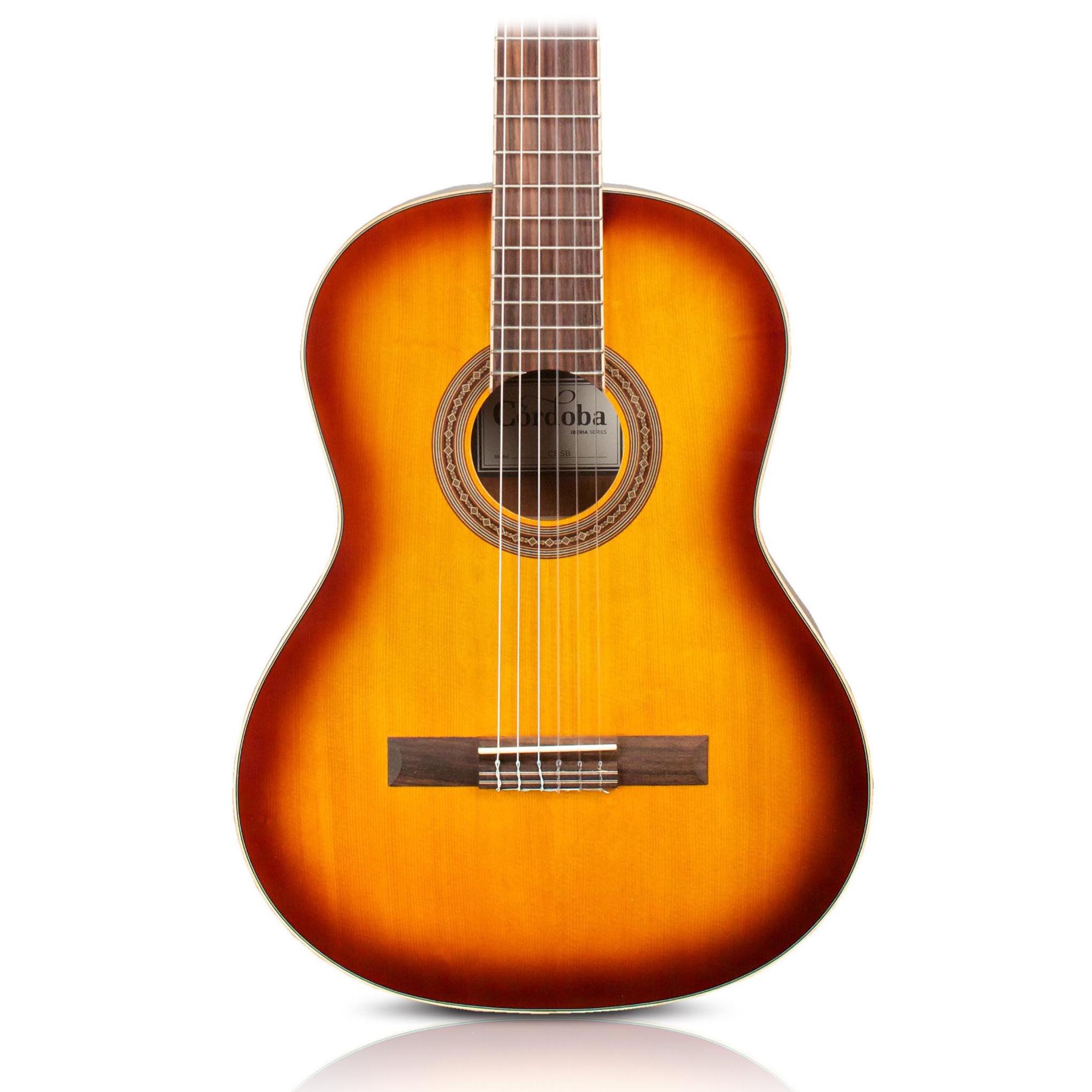 Cordoba C5 Classical Spruce Top Acoustic Guitar Sunburst