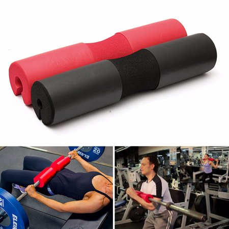 Barbell Pad Squat Bar Neck Cushion Shoulder Support Protective Weight Fitness Gym Weightlifting (Bar Front Squat)
