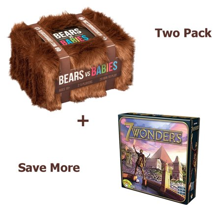 Bears Vs Babies  A Card Game From The Creators Of Exploding Kittens With 7 Wonders