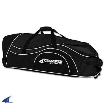 Pro-Plus Catcher's Roller Bag-36''L x 12''W x 12''H,