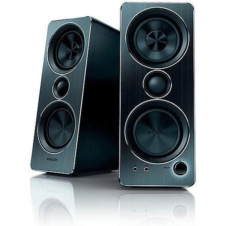 2 Piece Multimedia Speaker (Philips 2.0 Multimedia Speakers, SPA8210/37)