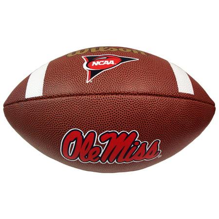 Wilson Composite Football - Ole Miss Rebels ()