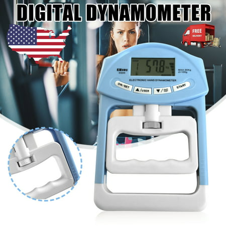 Electronic Hand Grip 198lb/90kg Strength Dynamometer Meter Measuring Abdominal Muscle Trainer Good Christmas Birthday Gift for your Friends