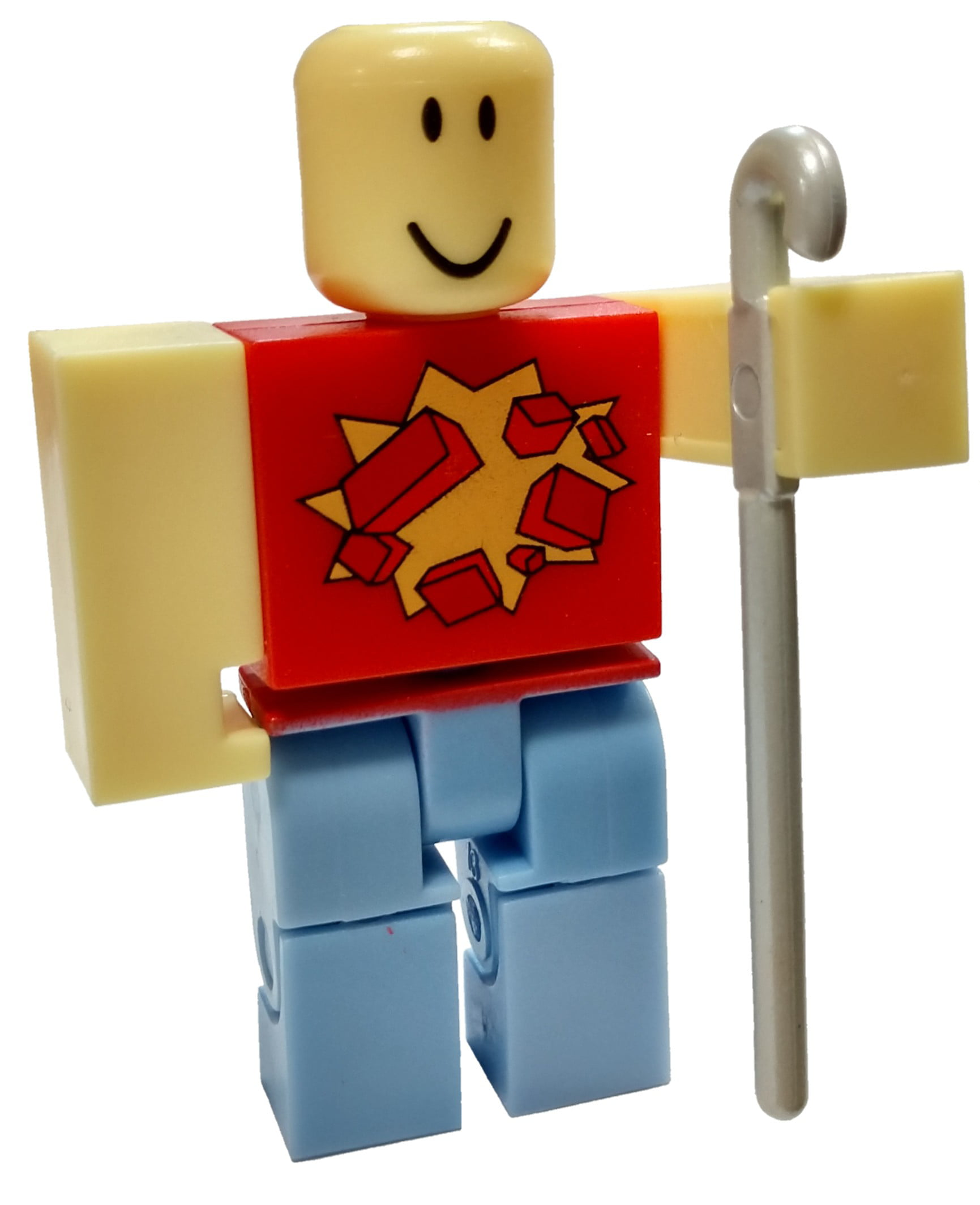 Roblox Red Series 4 Woodreviewer Mini Figure With Red Cube And