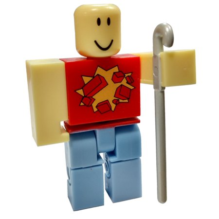 Roblox RED Series 4 WoodReviewer Mini Figure [with Red Cube and Online Code] [No Packaging]