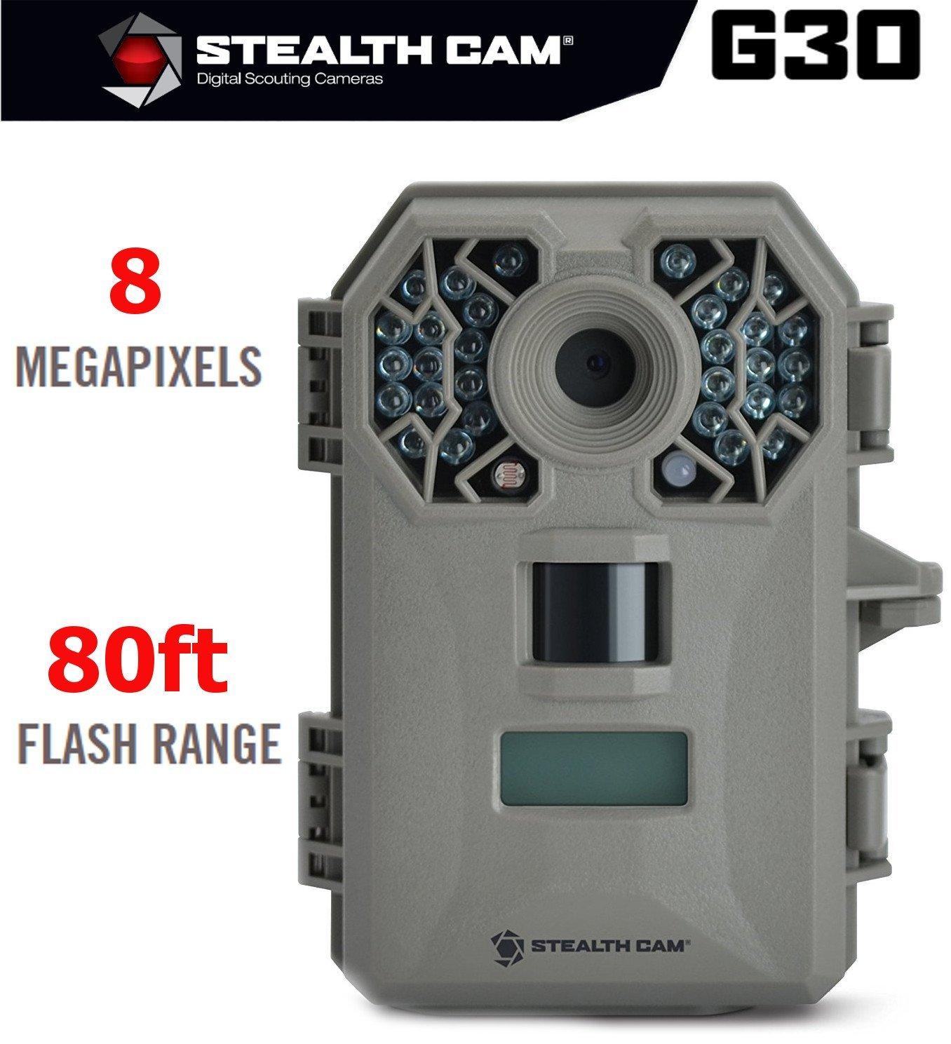 Wireless Trail Camera, Stealth Cam G30 8mp Game Hunting Trail Camera Wireless
