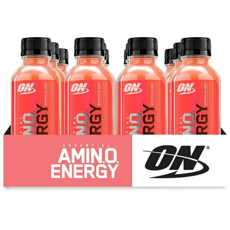 Optimum Nutrition Amino Energy Drink Watermelon 16 Fl Oz