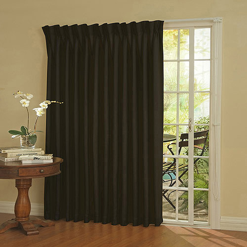 Perfect Eclipse Thermal Blackout Patio Door Curtain Panel