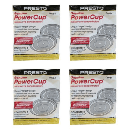 32 Presto 09964 PowerPop Powercup Microwave Concentrators 09964
