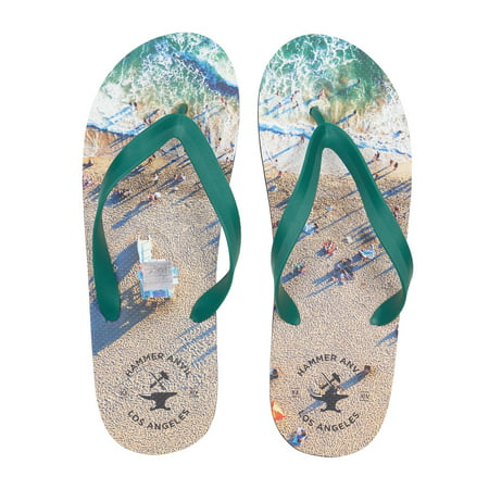 de5808be11e0 Hammer Anvil - Hammer Anvil Mens Flip Flops Casual Thong Summer Sandals  Comfortable Beach Shoes - Walmart.com