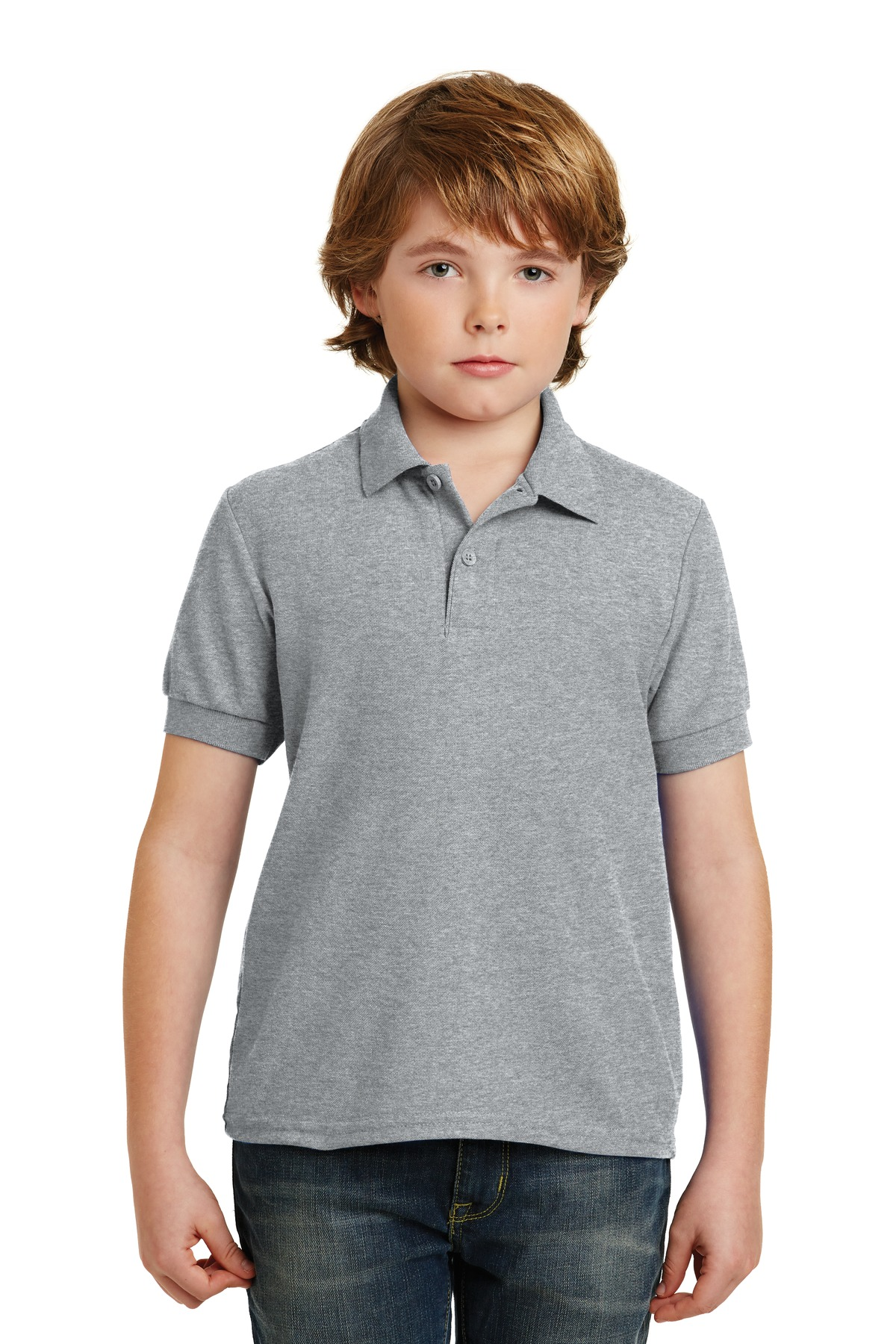 Gildan Youth DryBlend 6-Ounce Double Pique Sport Shirt