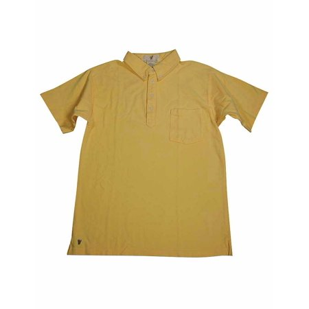 Wes and Willy - Big Boys Short Sleeved Polo Style Top Yellow / (Wes And Willy Boys Clothing)