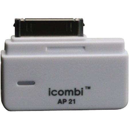 White Chatterbox iCombi iPod Bluetooth Adapter (Ipod Bluetooth Adapter)