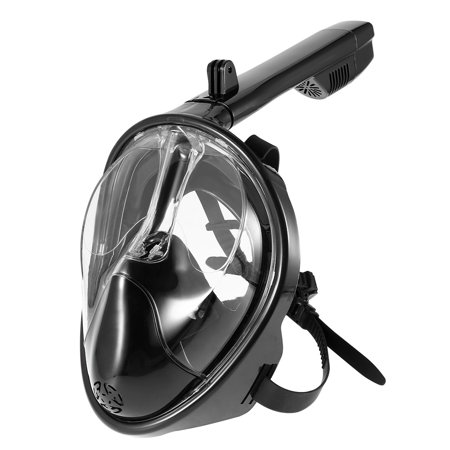 Full Face Snorkeling Mask Diving Snorkel Mask Set 180 Degree View Diving (Best Snorkel Set For The Money)