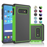 "5.8"" Galaxy S10e Case, Galaxy S10e (2019) Sturdy Case, Njjex [Shock Absorption] Dual Layer Hybrid Armor Defender Protective Case Cover for Smamsung Galaxy S10e 5.8"" (2019) -Green"