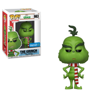 Funko POP Movies: The Grinch Movie -The Grinch w/ Scarf