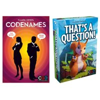 Deals on Codenames + Thats A Question Board Games