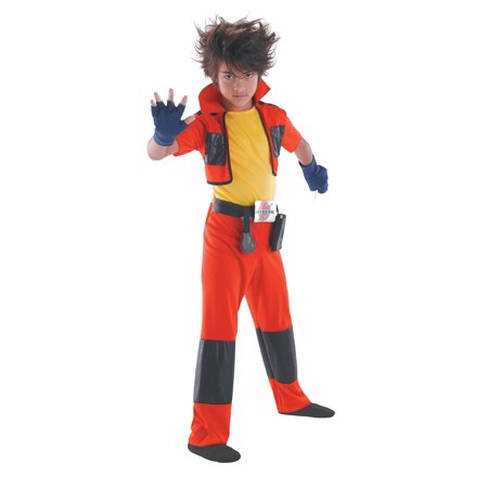 Dan Bakugan Japanese Anime Classic Boys Costume DIS50539 - Small (4-6)](Dessins Animes Halloween)