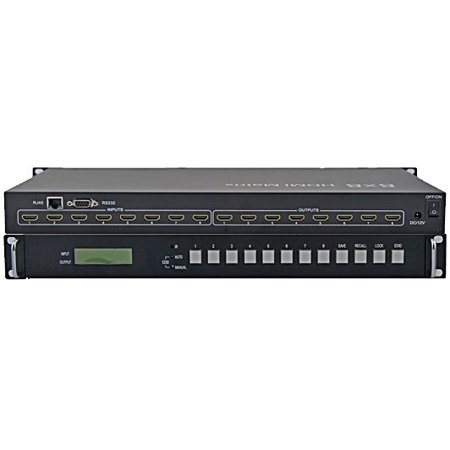 WolfPack 4K 8x16 Pseudo HDMI Matrix Router via HDBaset with 1-Year Warranty ()