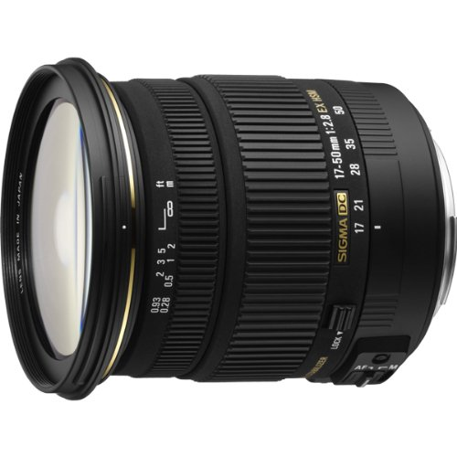 Sigma 17-50MM F2.8 EX DC OS HSM Zoom Lens for Canon EOS D...