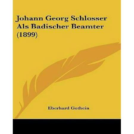 Johann Georg Schlosser ALS Badischer Beamter (1899) - image 1 of 1