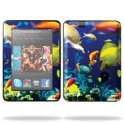 """Skin Decal Wrap for Kindle Fire HD 7"""" inch Tablet cover Birch Wood"""