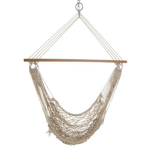 castaway hammocks single cotton rope swing castaway hammocks single cotton rope swing   walmart    rh   walmart