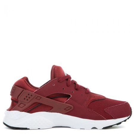 nike little kids air huarache run fashion sneakers (11, team red/white/black)