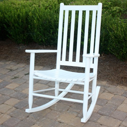 Dixie Seating Company Outdoor/Indoor Georgetown Slat Rocking Chair